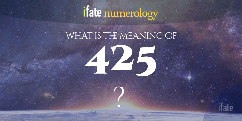 the number 425 meaning