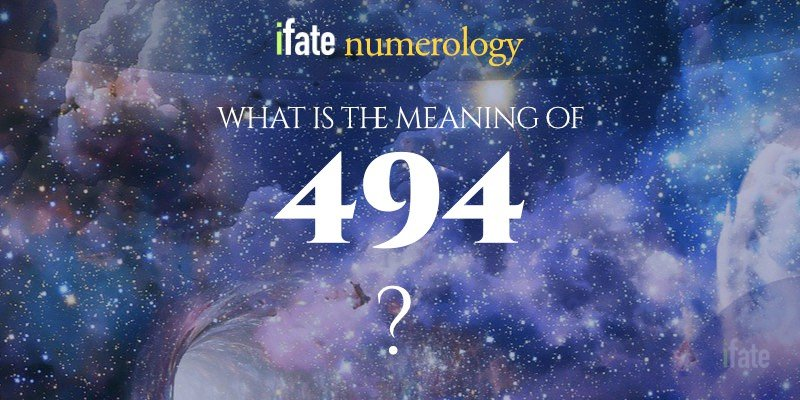 the number 494 meaning