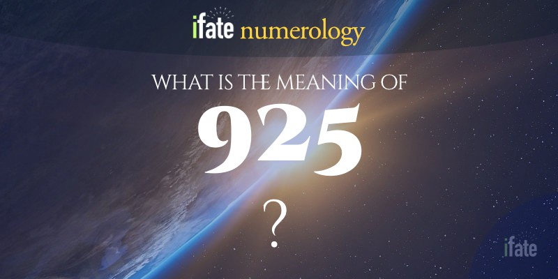the number 925 meaning