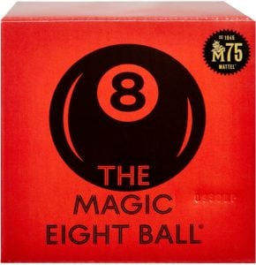 Magic 8 Ball box