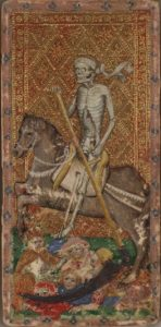Death card from the Cary Yale Visconti Sforza deck