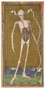 death tarot card visconti sforza
