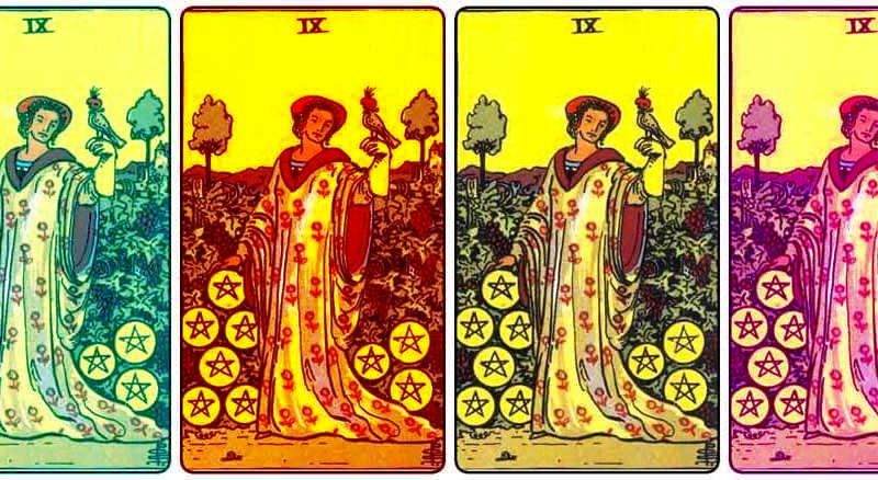 nine of pentacles meaning
