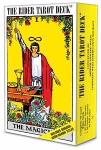 RIder Waite Tarot Deck box image