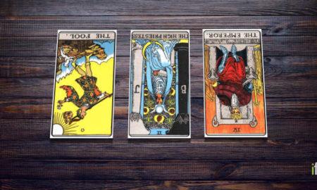 Every tarot card reversed