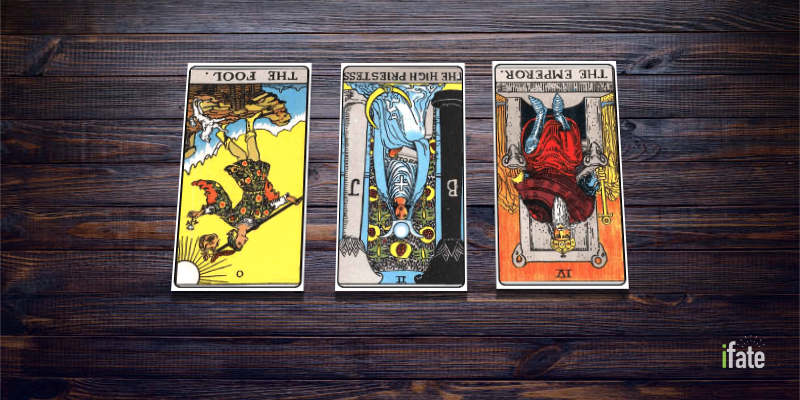Every tarot card reversed