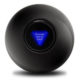 Can you fly with a magic 8 ball?