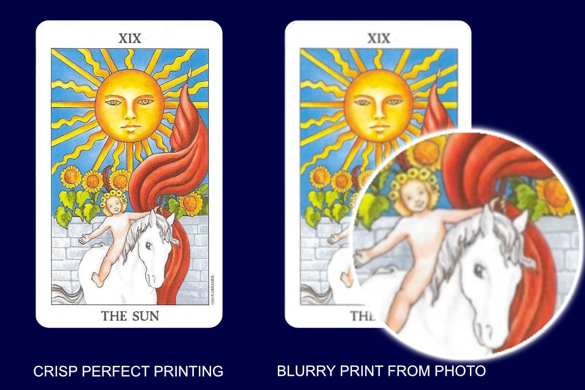 are your tarot cards fake?