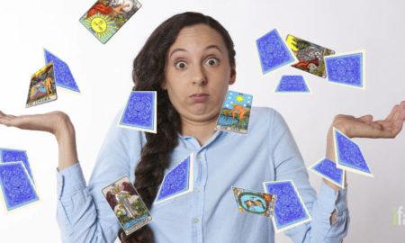 Fake tarot cards