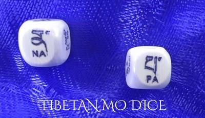 Tibetan Mo dice