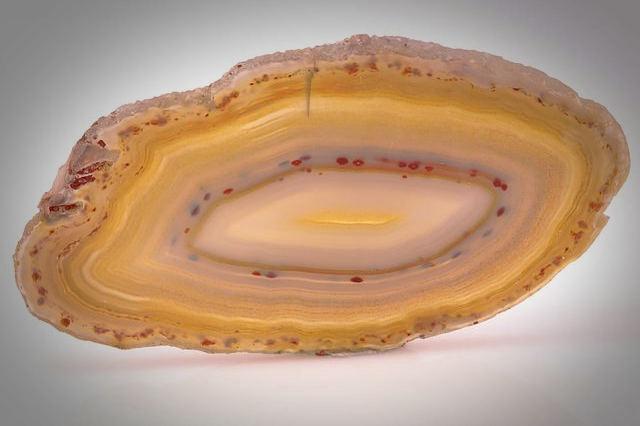 Agate healing crystal