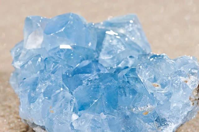 angelite healing crystal