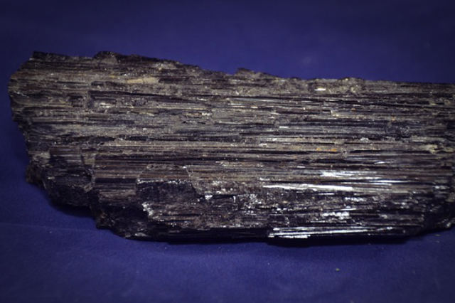 Rough black tourmaline healing crystal
