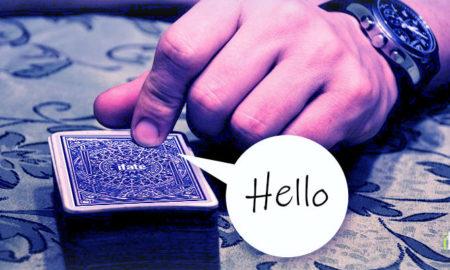 Interview tarot cards